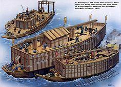 REDS.VN - Loạt hình ảnh hiếm có về chiến thuyền Đông Á thời xưa
