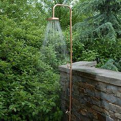 Copper Outdoor Shower @ shopterrain.com