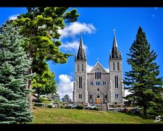 Martyrs Shrine Midland, Ontario, Canada Largest Countries, Countries Of The World, What A Beautiful World, Beautiful Places, Midland Ontario, Canada Pictures, Canadian Things, Cathedral Basilica, Church Architecture