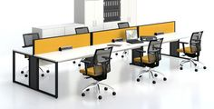 Colour office solutions #yellow #officefurniture