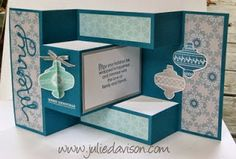 VIDEO: Tri-Shutter Card Tutorial - Julies Stamping Spot -- Stampin Up! Project Ideas Posted Daily