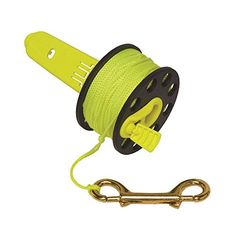 Innovative Scuba Finger Spool With Hand Winder And Brass Clip - Light And Corrosion Free, FL0239 - http://scuba.megainfohouse.com/innovative-scuba-finger-spool-with-hand-winder-and-brass-clip-light-and-corrosion-free-fl0239/
