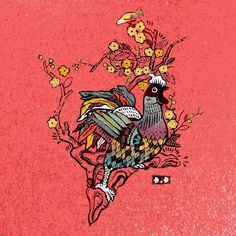 Year of the Rooster - Vietnam on Behance