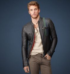 Belstaff | Mens Textured Lambskin Excelsior Jacket | Goodwood Sports & Racing by Belstaff