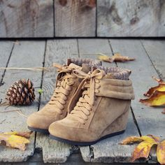 Thru the Woods Booties, Sweet & Rugged boots from Spool No.72 | Spool No.72