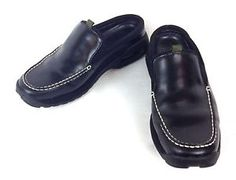 Cole Haan Shoes Suede Black Nike Air Slip on Athletic Casual Womens Slides 8 B | eBay