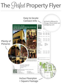 Worst Commercial Property Flyer Mistakes and How To Fix Them #CRE #bizRE