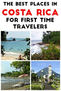 The 10 best places in Costa Rica for first time travelers. All of these destinations are easily accessible, are tourist friendly and have plenty of activities for solo, couple and family travelers. Click through to read more https://mytanfeet.com/costa-rica-travel-tips/best-places-in-costa-rica/