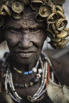 Anciana Dassenech. Omorate. Omo Valley, Etiopía. (Raúl Barrero fotografía) Tags: portrait ancient trube dassenech omorate omovalley omo ethiopia woman africa
