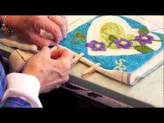 Rug Hooking Tutorial With Sara Beth Black ~ Mountain Wool
