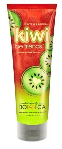 Kiwi Be Friends Advanced DHA Bronzer Superior Moisture 8.5oz by Swedish Beauty. $19.99. Advanced DHA Bronzer With Sunflower Oil And Shea Butter. Way to Glow! This ultra-rich, bronzing blend ups the WOW factor with vitamin-rich Kiwi that helps soften, smooth and promote healthier-looking skin as you turn heads with a show-stopping glow. Color changes everything: A new hue... a new you!        Advanced DHA Bronzing Blend: DHA and natural melanin-enhancers boost color f...