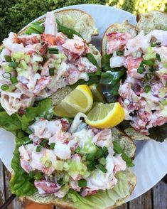 Lobster rolls for Summer! Easier then you think.