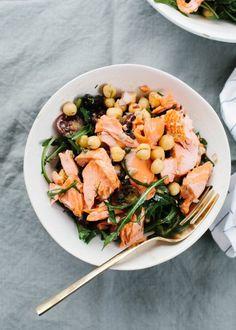 Salmon and Chickpea Salad