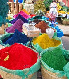 "In Guatemala, this colored sawdust is used to create Mayan-Catholic murals! ""Semana Santa Sawdust"" by Kaitlyn Barrett.  Guatemala City, Guatemala"