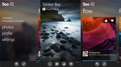 500px application update for Windows Phone 8 devices   500px official update is available for the use of Windows Phone devices, which can be...