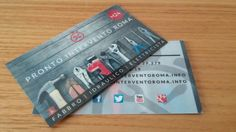 Nuove business card - pronto intervento roma