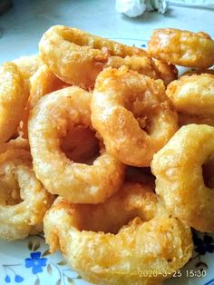 Onion Rings, Greek Recipes, Food Art, Family Meals, Cooking Tips, Seafood, Food And Drink, Fish, Ethnic Recipes