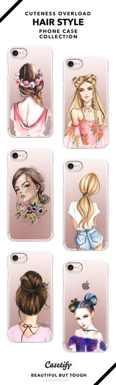 Life is Too Short For Boring Hair | The Cutest Hair Updo & Styles Phone Cases Collection - iPhone 6/6s/7/7+ AND MORE! Shop them here ☝️☝️☝️ BEAUTIFUL BUT TOUGH ✨ - Hair, Cute, Style, Girl, Summer, Outfit, Flower, Fashionista