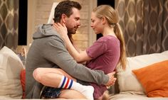 The Guardian review of The Way We Get By: Sadoski is a compelling actor with a distinct manic energy. Seyfried isn't really a stage creature — sometimes she's too internal, at other times too indicative, but she's a capable actor. Beautiful, too. Leigh Silverman is a smart and sensitive director, but how much can you do with a play this middling, this contentless? The comedy isn't as miserabilist as some of LaBute's work, but it is insipid and trivial.