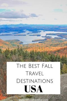 The Best Fall Travel Destinations in the United States – Travel World Usa Travel Guide, Travel Usa, Travel Guides, Travel Tips, Solo Travel, Travel Hacks, Travel Packing, Travel Essentials, Luxury Travel
