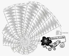 Roberta Crochê e Cia: Bolsa Praia Crochê com gráfico