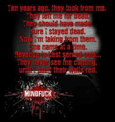 📚🔪🔗 ARE YOU READY FOR #MINDFUCK? 🔗🔪📚   The Risk (Mindf*ck Series Book 1)by       @S.t.   December 1st  Add to TBR: https://www.goodreads.com/book/show/33131867-the-risk  They took too much. Left too little. I had nothing to lose...until him.   #TheRisk #STAbby #DarkRomance #TBR #Books #goodreads #mustread #ebooks #5stars #romance