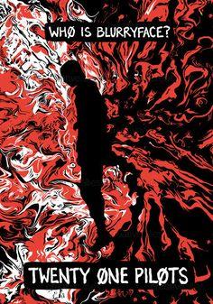 TWENTY+ONE+PILOTS+Poster+by+ellamartini+on+CreativeAllies.com