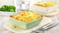 Kjøttform med potetmoslokk Norwegian Food, Norwegian Recipes, Cottage Cheese, Macaroni And Cheese, Crockpot, Nom Nom, Food And Drink, Pie, Yummy Food