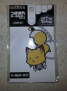 Gugure! Kokkuri-san Pinched Key Chain Kitsune Cat Mode Cospa Licensed Brand New