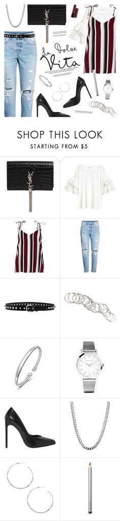 Designer Clothes, Shoes & Bags for Women Larsson & Jennings, Laura Mercier, Isabel Marant, River Island, Yves Saint Laurent, Shoe Bag, Polyvore, Stuff To Buy, Shopping