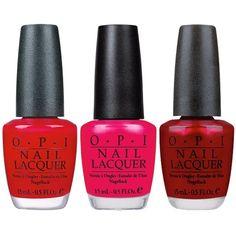 Opi Nail Polish Set (69 BAM) ❤ liked on Polyvore featuring beauty products, nail care, nail polish, opi nail varnish, opi, opi nail care and opi nail lacquer