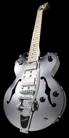 Normandy Aluminium Archtop in Chrome - Shared by The Lewis Hamilton Band https://www.facebook.com/lewishamiltonband/app_2405167945 www.lewishamiltonmusic.com