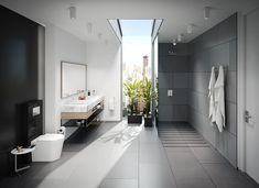 Galeria de Sanitario al Piso con Tanque Semi-Oculto - Serie Scala - 2 Architecture Details, Bathtub, Interior Design, Bathroom, Diy, Bath, Houses, Occult, Tanks