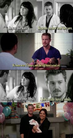 God I miss him. I just got caught up in the show and I knew Lexie died but had no idea about him. One of the hardest deaths on any show for me