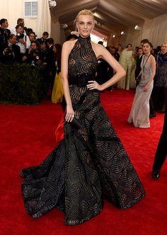 Caroline Trentini - Best Dressed at the 2015 Met Gala