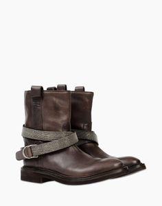 Stivaletto Donna - Calzature Donna su Brunello Cucinelli Online Store