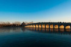 日落十七孔桥 - null