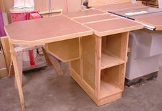 Table Saw Extension Table System
