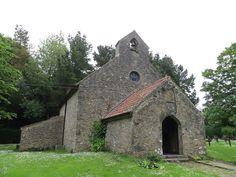 ~ St. David's church ~ Caldey Island ~ Tenby ~ Wales ~