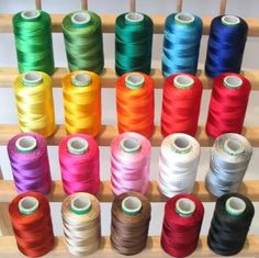 Tips for using heavyweight thread in machine embroidery | Creative Machine Embroidery #EmbroideryProjects