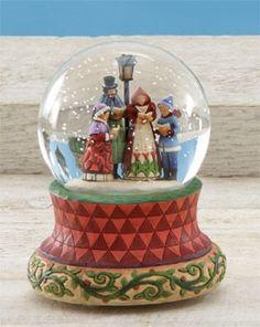 Songs of the Season.. snow globe.  Jim Shore