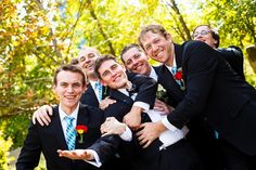 These guys were having the best time at a wedding I shot with @baileyrobertsphotography!