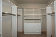 Closet by Designer Homes