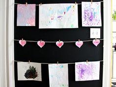 Kid's Artwork: Save, Display or Discard? http://blog.diynetwork.com/maderemade/2015/04/24/kids-artwork-save-display-or-discard/?soc=pinterest