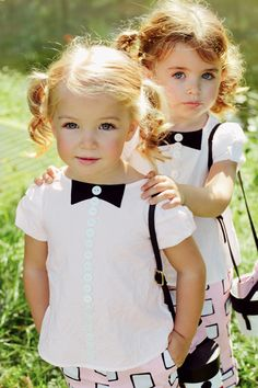 Life is Beautiful, too cute! Great Kids Fashion. How to make your kids look the part... {Eve & Tess}