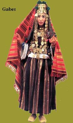 Traditional Tunisien dress