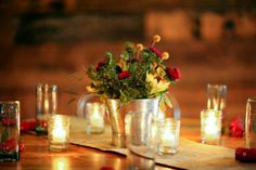 Rustic Style Rehearsal Dinner