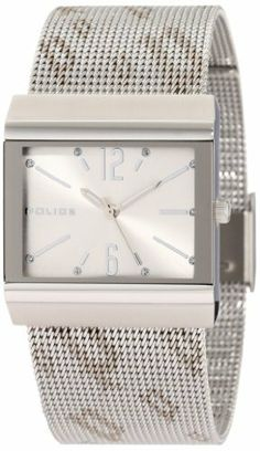 Police Women's PL-10813BS/04M Virtue Silver Dial Stainless-Steel Mesh Bracelet Watch Police. $57.00. Second hand feature. Water-resistant to 165 feet (50 M). Luminous hands. Stainless-steel bracelet. Crystals on bezel. Save 70% Off!