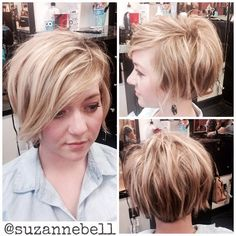 love the cut the slight undercut in back and even the color....Needs a little more dark out of the top otherwise perfect