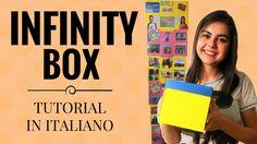 Infinity Card, Explosion Box Tutorial, Exploding Box Card, Video Card, Kirigami, Big Shot, Mini Albums, Pop Up, Diy And Crafts